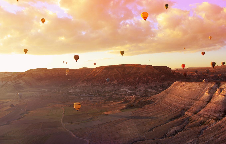 Cappadocia air balloons